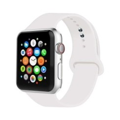 Basic Rubber Series for Apple Watch 42-44mm White