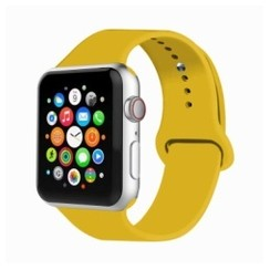 Basic Rubber Series for Apple Watch 42-44mm Yellow