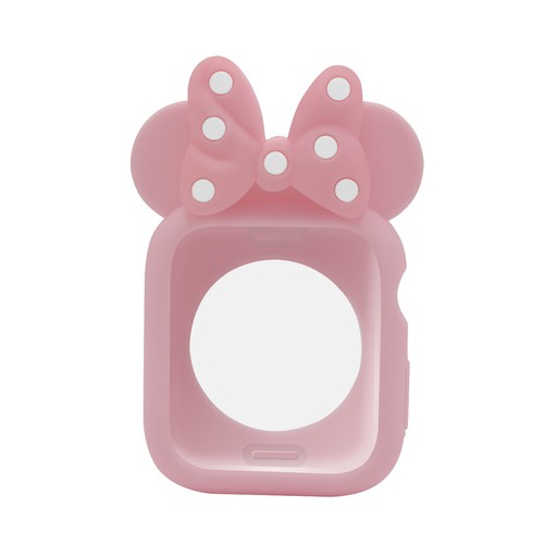 Minnie Mouse Edition Bumper Case for Apple Watch  44mm Pink Pink
