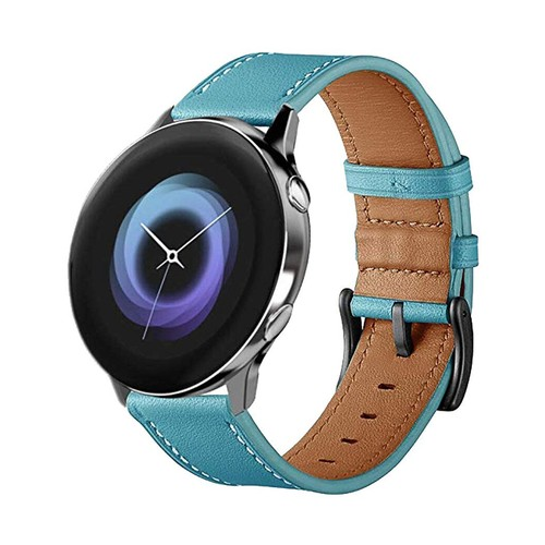Vendito Leather Series for Smartwatch 20mm Blue