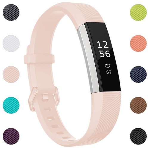 Notale Rubber Series Strap For Fitbit Alta HR Watch Light Pink