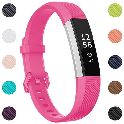 Notale Rubber Series Strap For Fitbit Alta HR Watch Pink