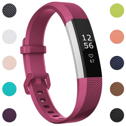 Notale Rubber Series Strap For Fitbit Alta HR Watch Purple