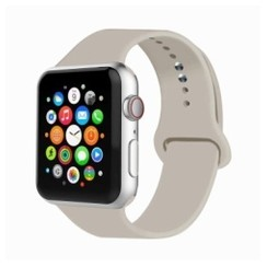 Basic Rubber Series for Apple Watch 42-44mm Antique White
