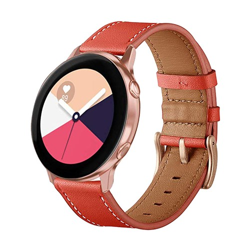 Vendito Leather Series for Smartwatch 20mm Orange