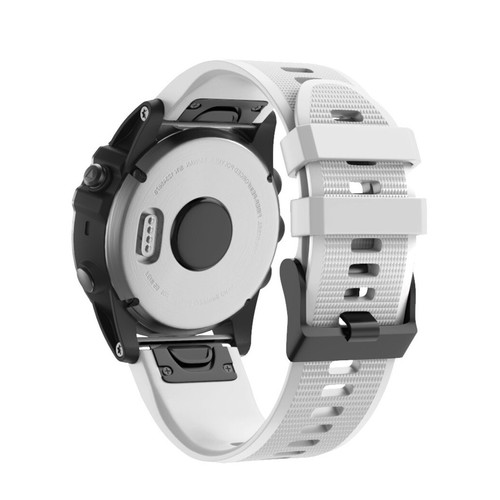 Notale Basic Rubber Series Normal Strap for Garmin 26mm White