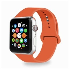 Basic Rubber Series for Apple Watch 42-44mm Apricot