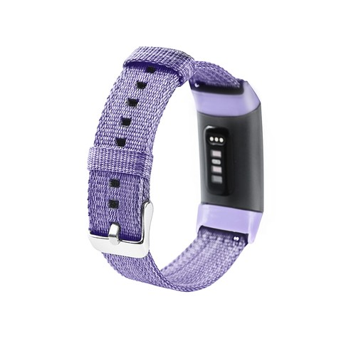 Notale Denim Series for Fitbit Charge 3 Watch Lavender