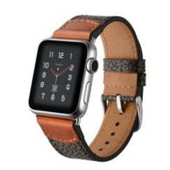 Marking Stone Leather Series for Apple Watch 42-44mm Brown