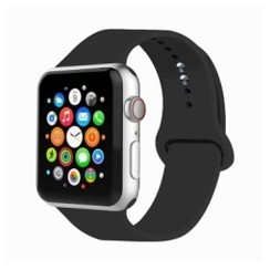 Basic Rubber Series for Apple Watch 42-44mm Black