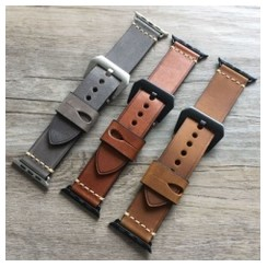 Phantom Leather Series for Apple Watch 42-44mm Brown