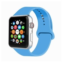 Basic Rubber Series for Apple Watch 38-40mm Blue