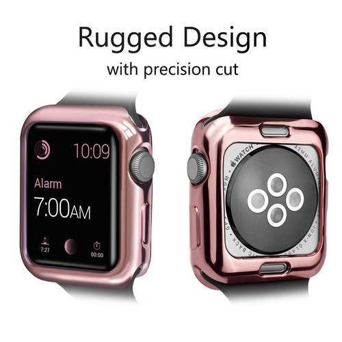 Glossy Bumper Case for Apple Watch  38mm Pink