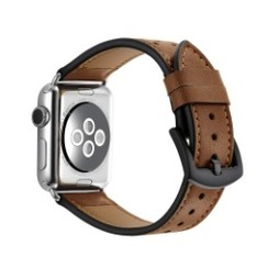 Seventh Leather Series for Apple Watch 42-44mm Brown