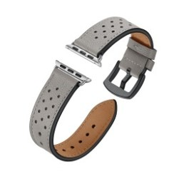 Seventh Leather Series for Apple Watch 42-44mm Gray
