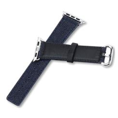 Denim Series for Apple Watch 42-44mm Dark Blue