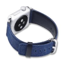 Denim Series for Apple Watch 42-44mm Navy Blue