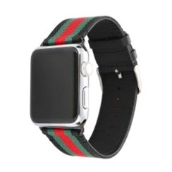 Fusion Series for Apple Watch 42-44mm Black Red