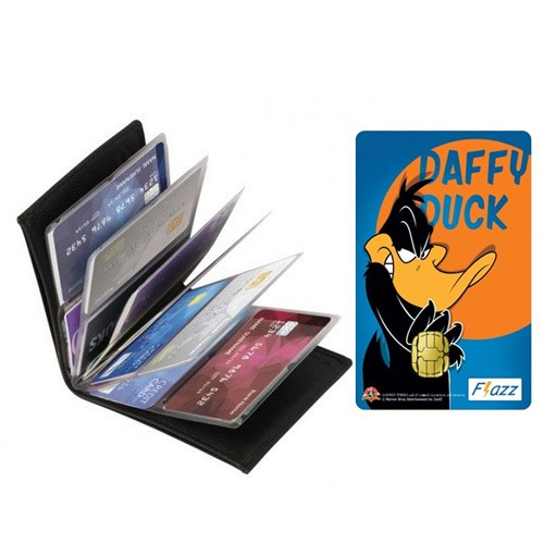 Dompet Kartu Serbaguna + BCA Flazz - Daffy Duck
