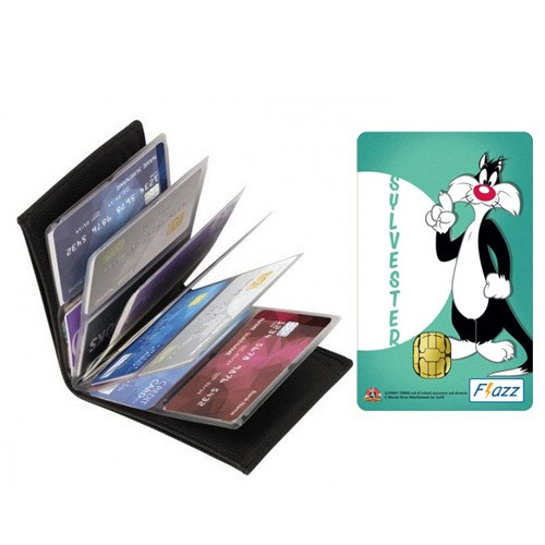 Dompet Kartu Serbaguna + BCA Flazz - Sylvester