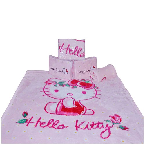 RISE Selimut Blanket Hello Kitty