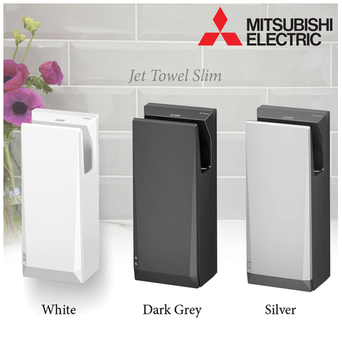 Mitsubishi Jet Towel hand dryer Heavy duty With Heater JT-SB216JSH2