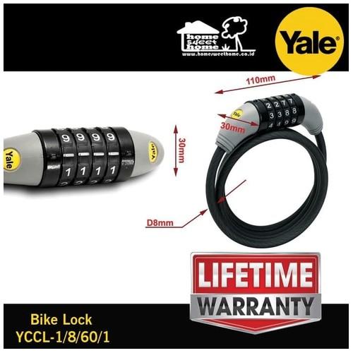 Yale bike lock Premium kunci sepeda