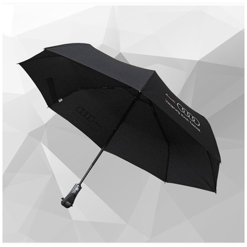 Fashionable Automatic Folding Umbrella - Gear Shift Handle Design