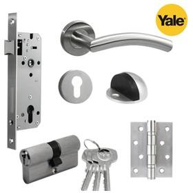 Paket set kunci pintu handl