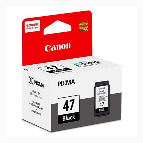 Canon Cartridge PG-47 for E400 - Black