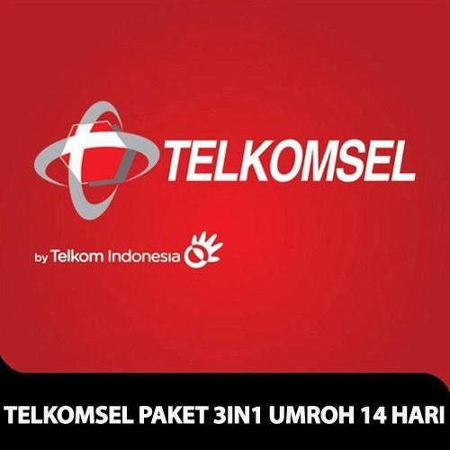 Telkomsel Paket 3 in 1 Umroh 14 hari