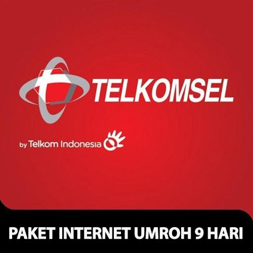 Telkomsel Paket Internet Umroh 9 hari