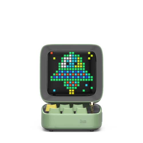 Divoom Ditoo Retro Pixel Art Portable Speaker - Green