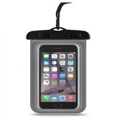 Universal Mobile Phone Seal Lock Waterproof Case Clear Bag 6-inch Max