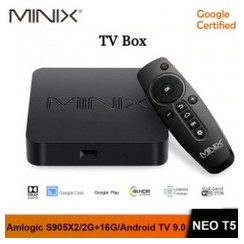 MINIX NEO T5 - Google Certified Android 9.0 TV Box - RAM 2GB ROM 16GB