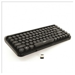 REMAX K101 - Wireless 2.4G Keyboard for Vintage Typewriter Black
