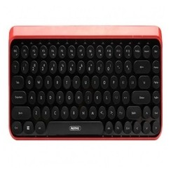 REMAX K101 - Wireless 2.4G Keyboard for Vintage Typewriter Black Red