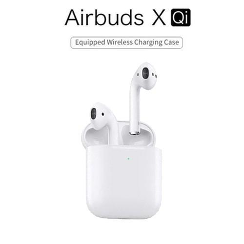 WIWU Airbuds X-Qi Mini TWS Bluetooth Stereo Earphone with Charging Box