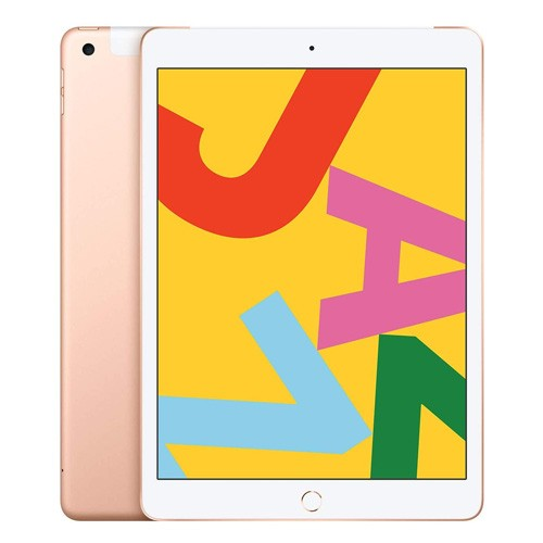 New Apple iPad 7 10.2 inch Wifi + Cellular 128GB - Gold