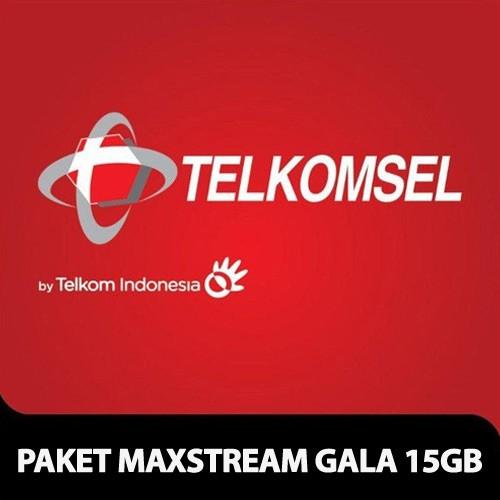 Telkomsel Paket Maxtream GALA 15GB