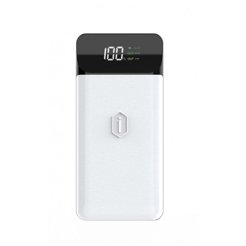 WIWU PD POWERBANK W2 - PD 18W Powerbank 10000mAh and Wireless Charging White