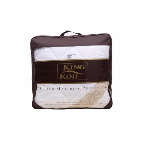 King Koil Fitted Mattress Protector Dacron - Queen (160x200)