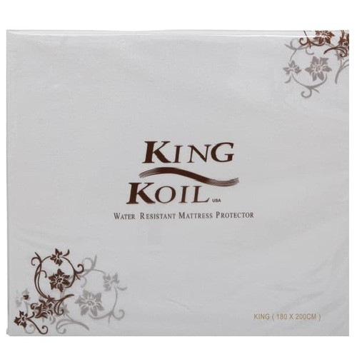 King Koil Mattress Protector Fitted Waterproof 120