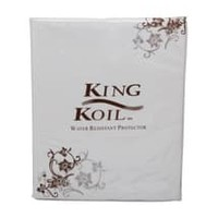 King Koil Bolster Protector Fitted Waterproof
