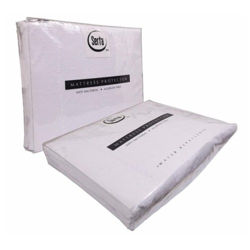 Serta - Mattrass Protector Waterproof (180x200x40) - White