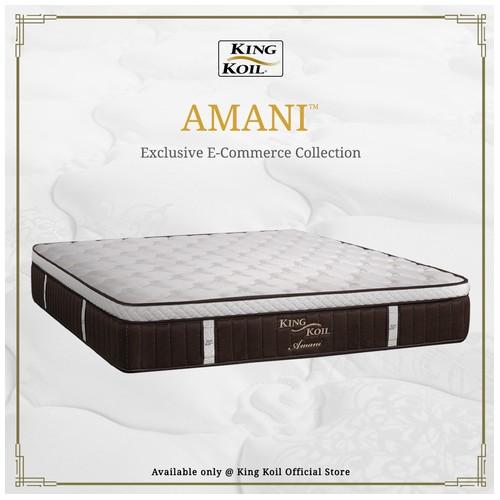 King Koil Kasur Springbed Amani - Single XL (120x200)