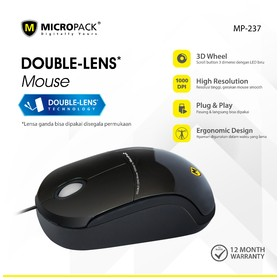 Micropack Wired Mouse Doubl
