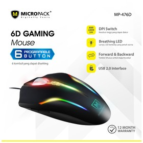 Micropack Gaming Mouse Prog
