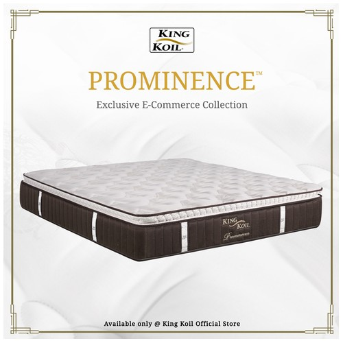 King Koil Kasur Springbed Prominence - Single XL (120x200)