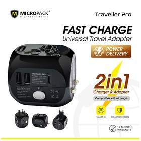 Micropack Universal Adapter